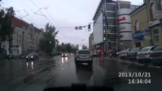 Автоприколы с девушками 2015 на дорогах