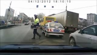 Авто-приколы девушки за рулем)