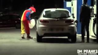 Страшный розыгрыш - клоун убийца