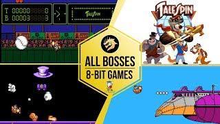 Tale Spin – All Bosses / Чудеса на виражах – Все Боссы | Dendy 8-bit / NES