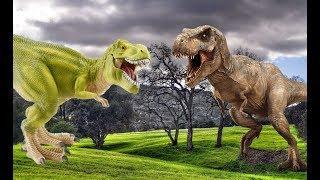 ДИНОЗАВРЫ. Тираннозавры, аллозавры, драконы и др. Сборник мультфильмов
